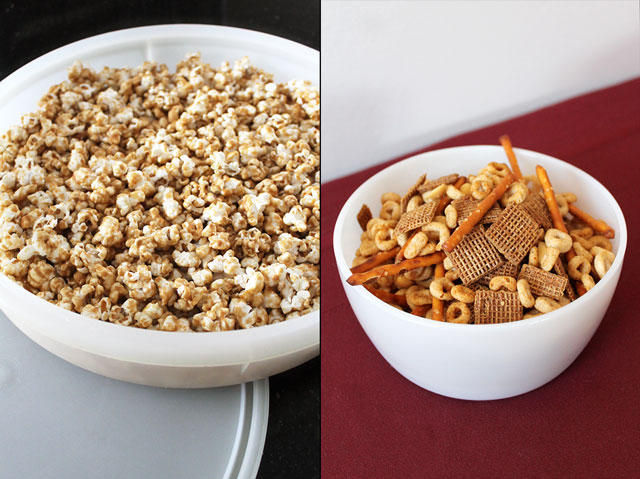 homemade-snacks-caramel-corn-and-nuts-and-bolts-party-mix