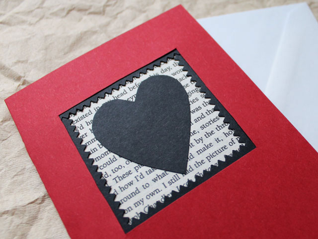 how to make a valentine card