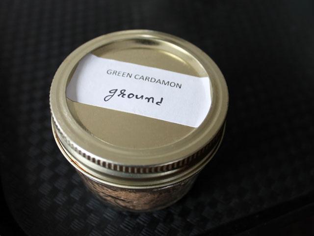 ground green cardamom cardamon from house of spice kensington market
