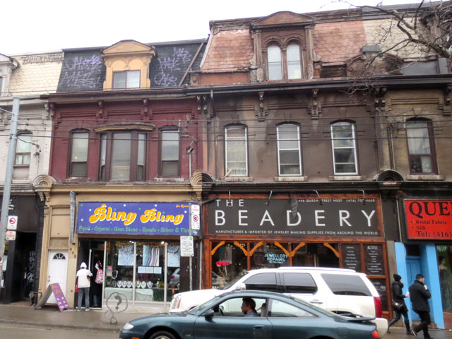 shopping-for-beads-on-queen-street-west-toronto