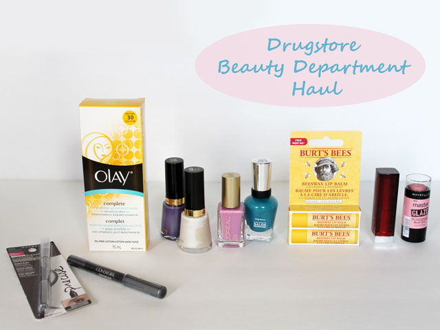 drugstore-beauty-department-haul-april-2015