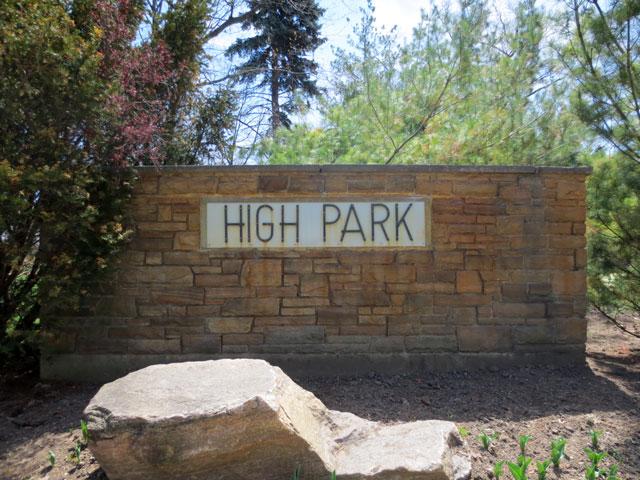 high-park-sign