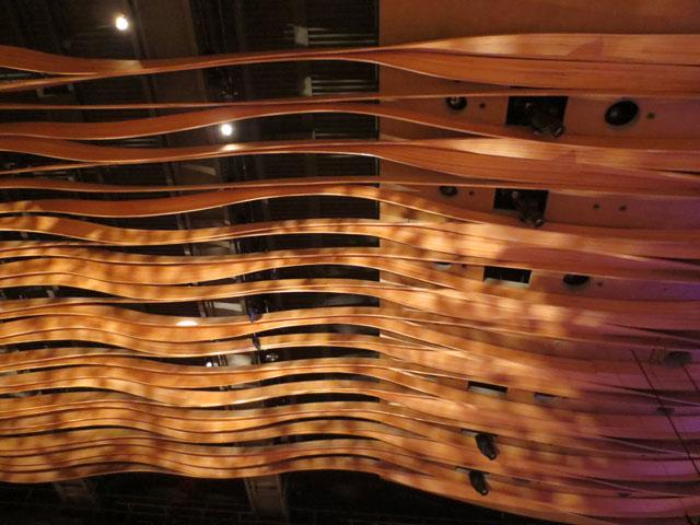 koerner hall ceiling
