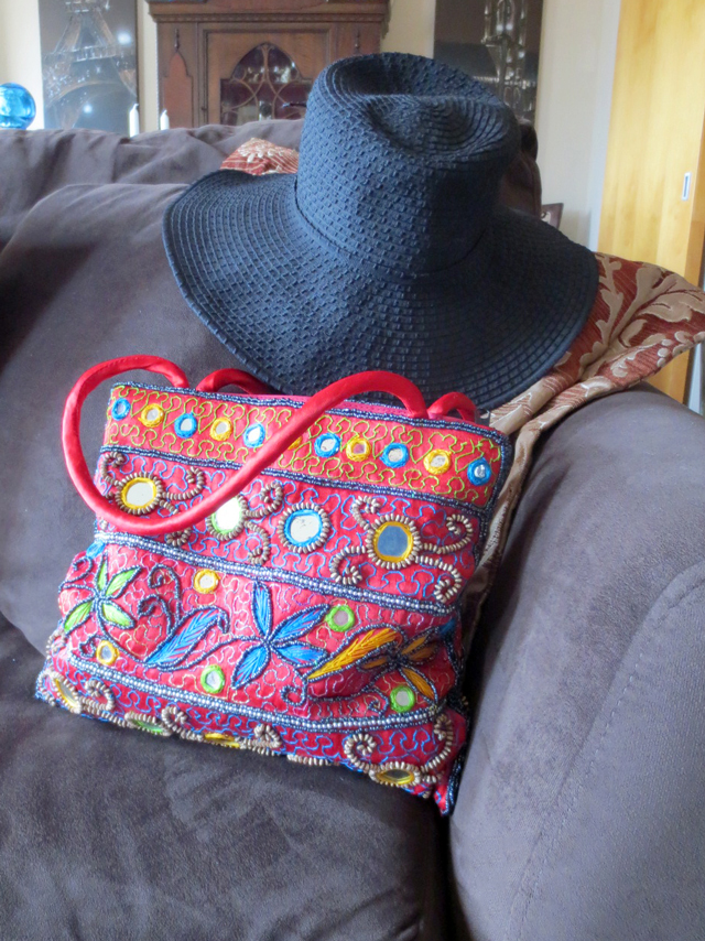 bag and hat