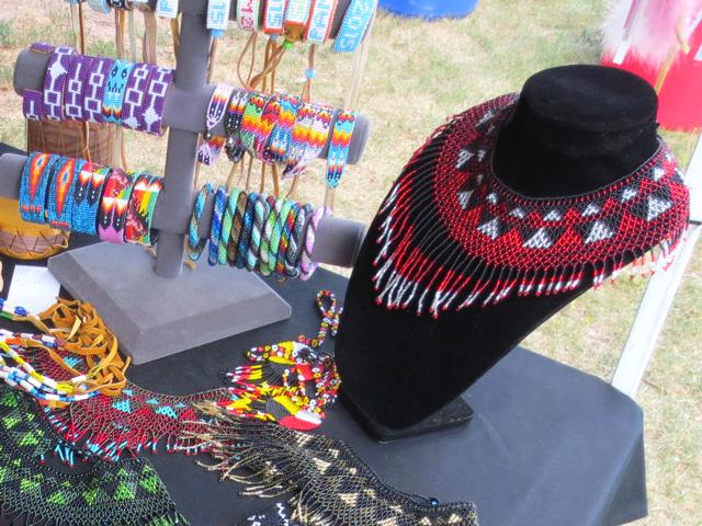 beadwork at aboriginal pavilion toronto