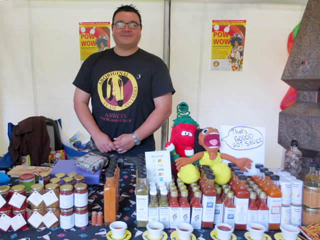 charger foods hot sauce at aboriginal pavilion toronto charles catchpole