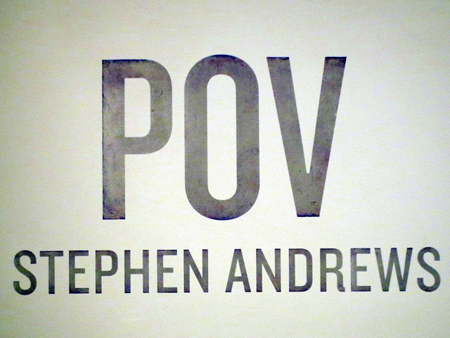 pov stephen andrews sign ago art gallery of ontario