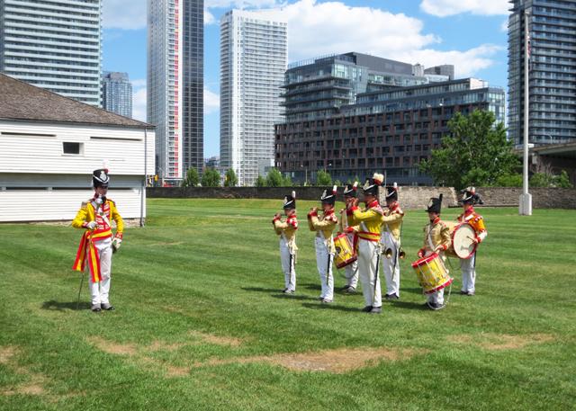 drum and fife band fort york toronto
