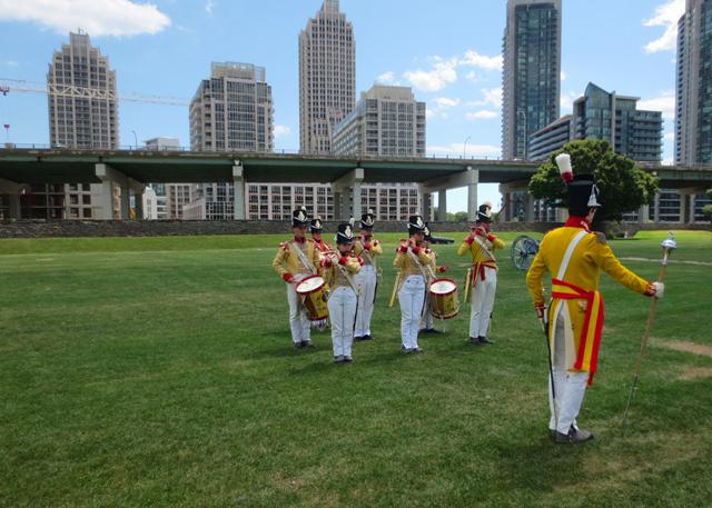 fife and drum band fort york toronto