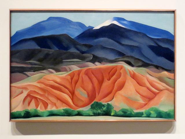 georgia-okeeffe-painting-ago-picturing-the-americas-exhibit-black-mesa-landscape