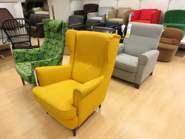 coloured-chairs-at-ikea-toronto