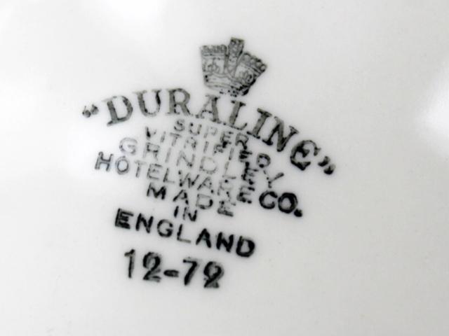 duraline grindley hotelware stamp logo