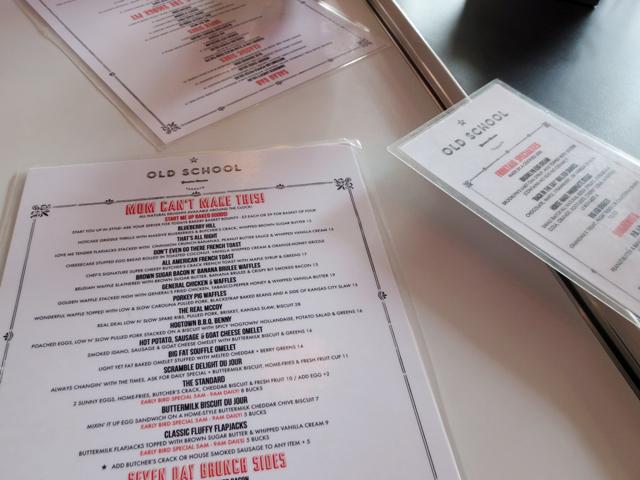 menus-at-old-school-restaurant