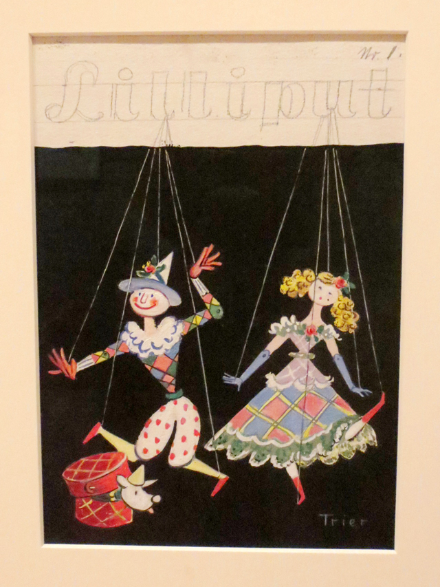 painting-by-walter-trier-lilliput-magazine-cover-ago
