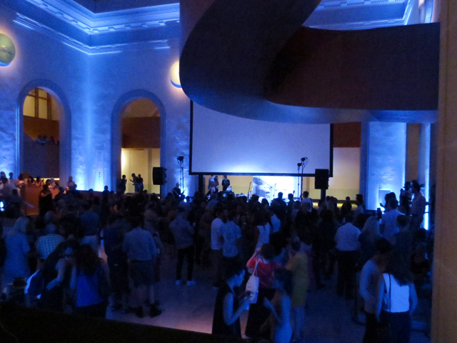 stage-area-at-ago-for-first-thursdays-event