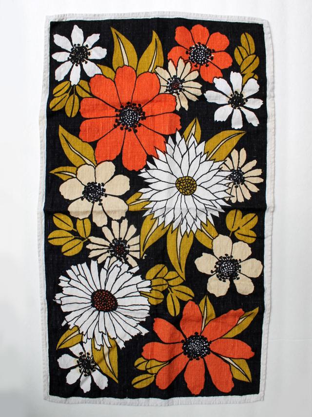thrifted linen tea towel