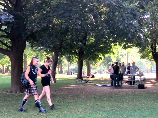 walking-through-the-park