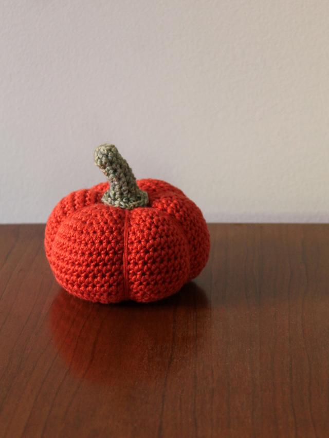 crocheted pumpkin free pattern