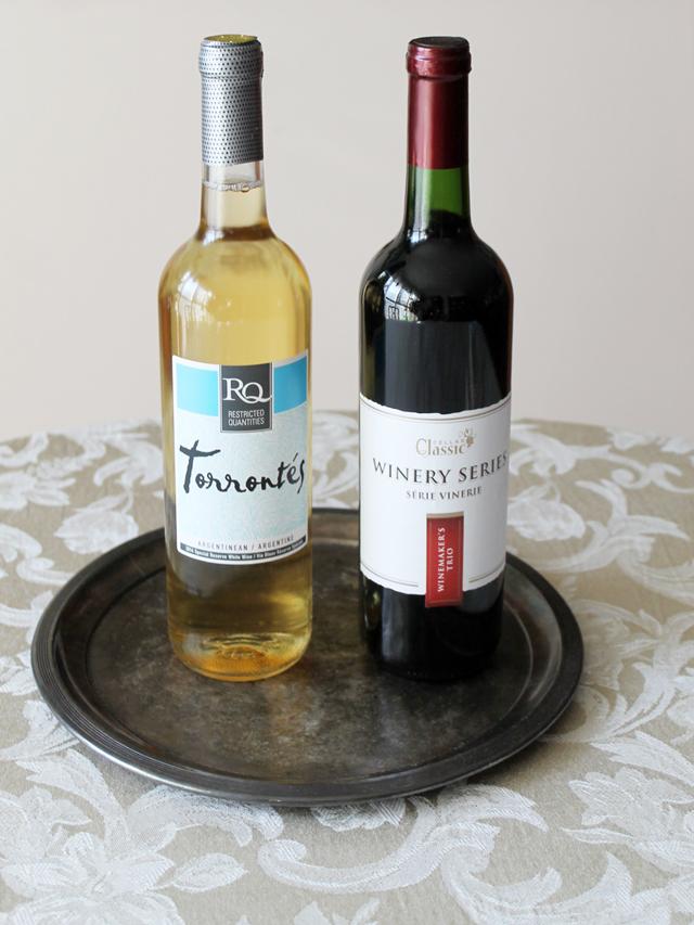 Bottles of RJS Craft Wine winemaking