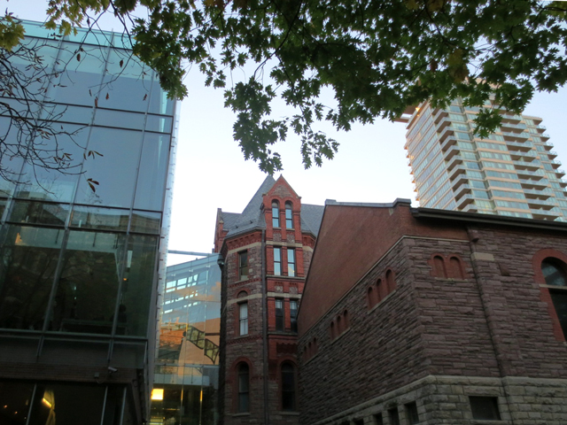 back of royal conservatory of music toronto