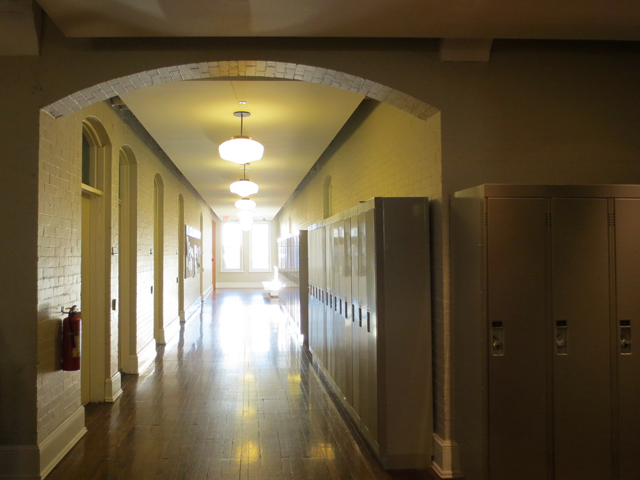 hallway in royal conservatory of music