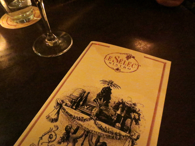 le-select-bistro-menu