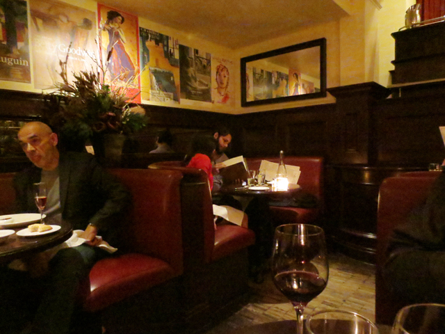 romantic booth tables for two at le select bistro