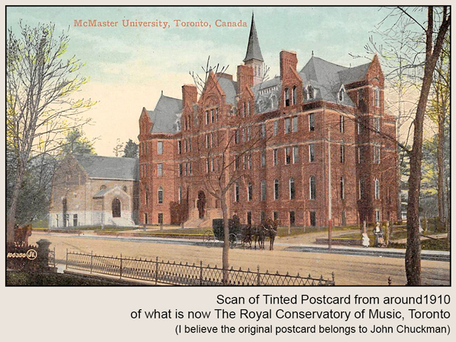 royal conservatory of music toronto historic photograph