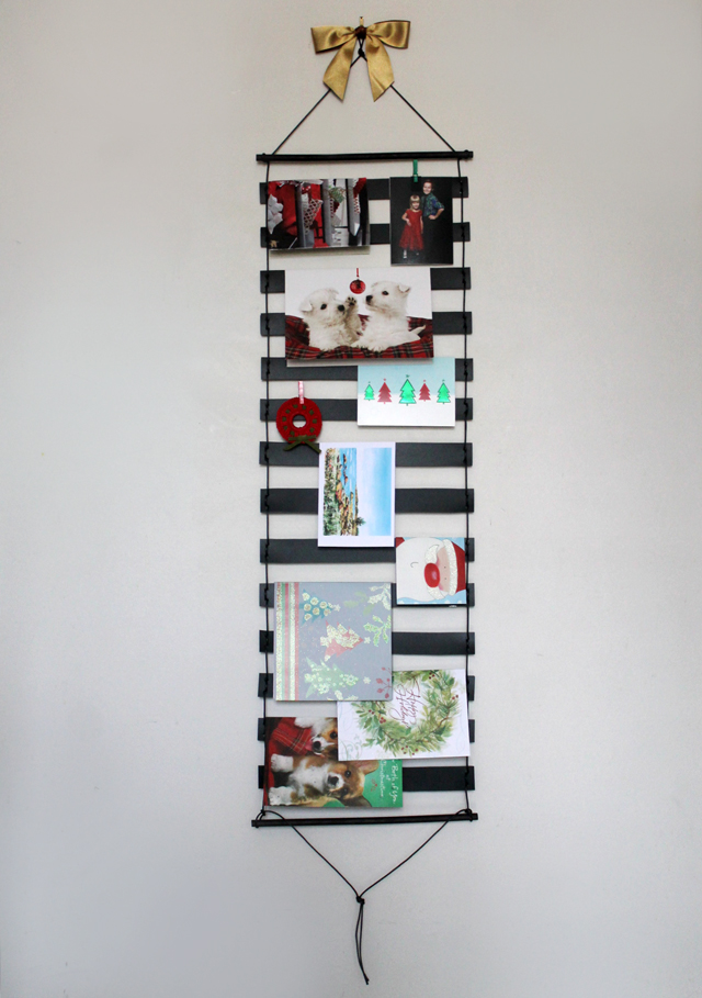 handmade-greeting-card-display-wall-hanging-card-holder-christmas-diy