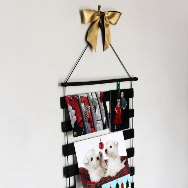 handmade greeting card holder wall hanging