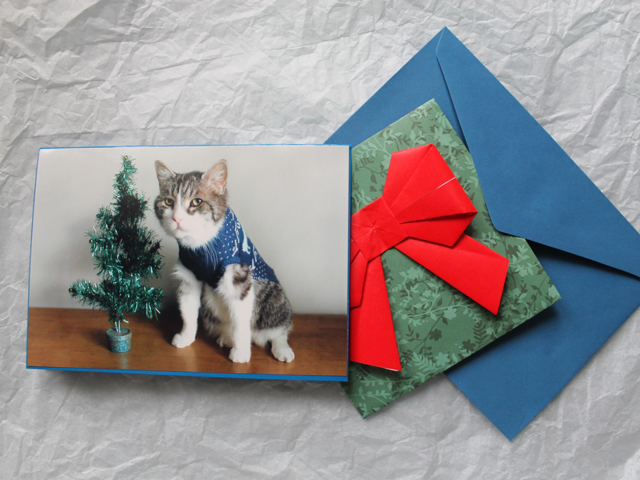 mailable-giftwrap-for-a-gift-card-or-IOU-with-origami-bow