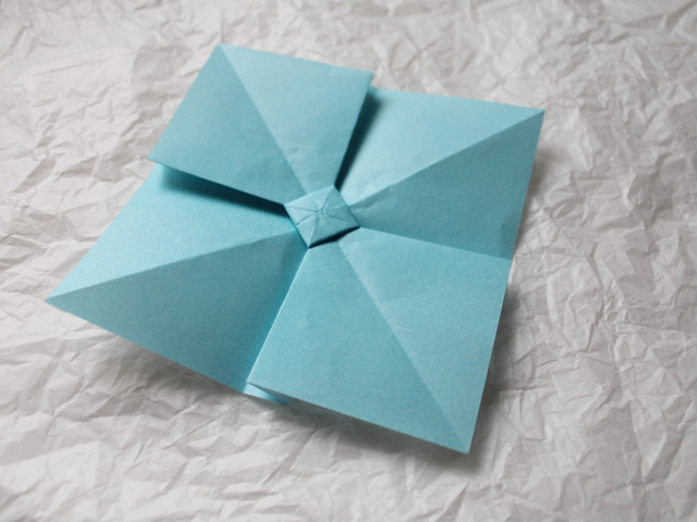 making origami bow