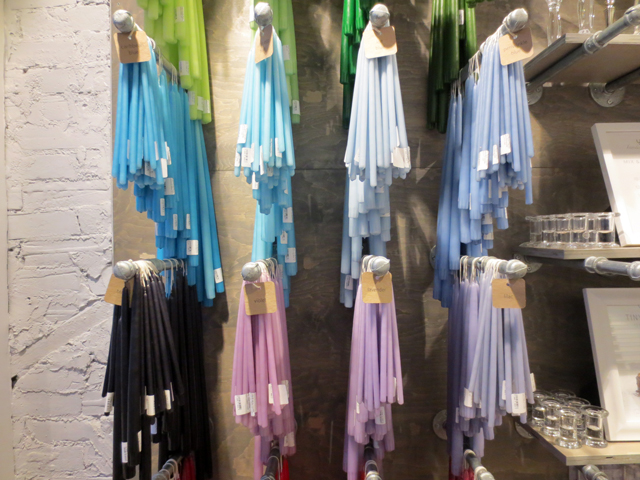 coloured-tapers-at-yummi-candle-shop-queen-street-west-toronto