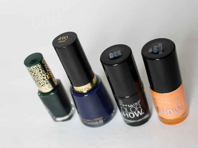 loreal-revlon-and-maybelline-nail-polishes