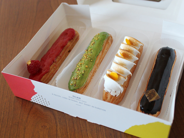 eclairs from nugateau queen street west toronto