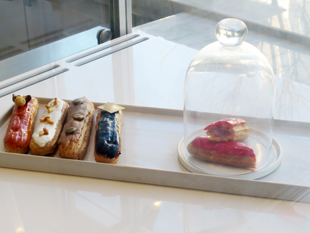 eclairs-in-nugateau-shop-queen-street-west-toronto