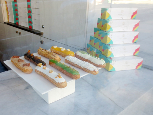 eclairs seen through the window nugateau toronto