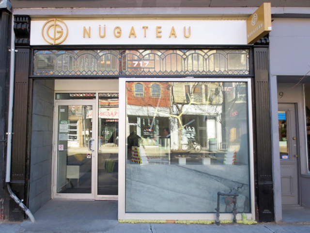 nugateau eclair shop on queen street west toronto