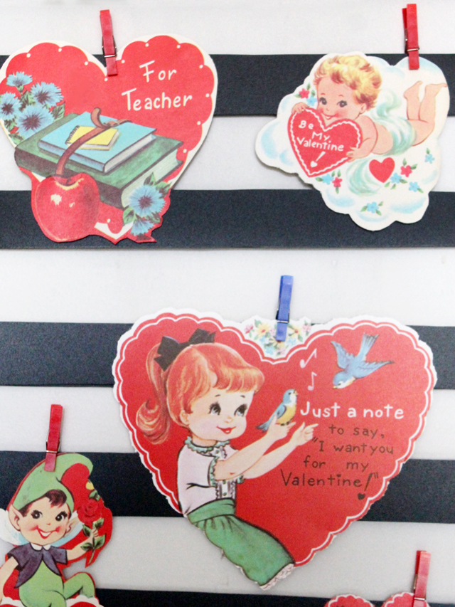 vintage-valentine-card-display