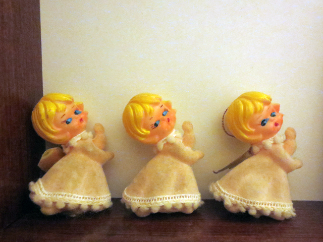 vintage angel ornaments