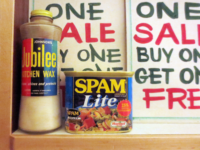 vintage wax and spam lite