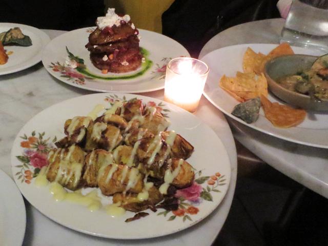 spanish tapas at carmen restaurant toronto