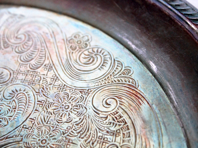 thrifted-silver-plated-serving-tray-detail-close-up
