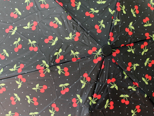 cherry-print-umbrella