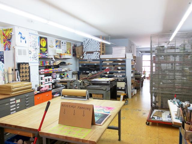 kid icarus screen print studio kensington market toronto