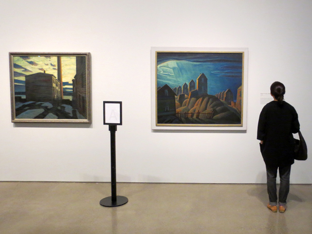 at the lawren harris exhibit curated by steve martin at ago toronto the idea of north