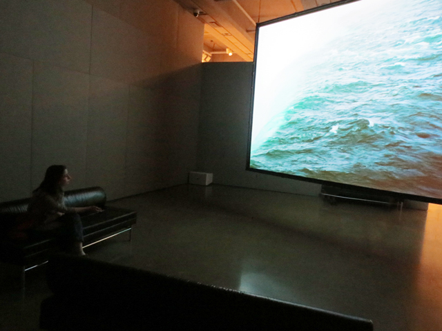 iceforms looped film at lawren harris exhibition ago toronto