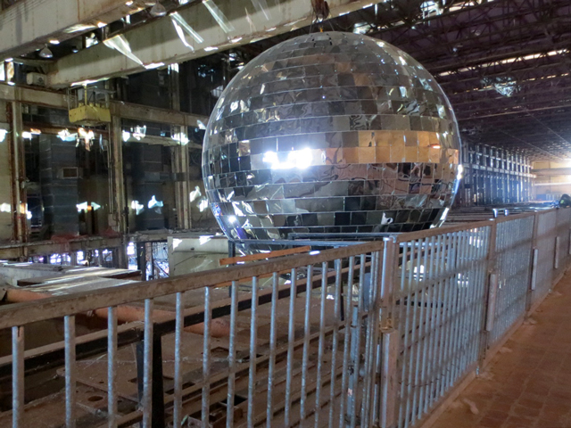 large-mirror-ball-toronto-luminato-festival-hearn-generating-station