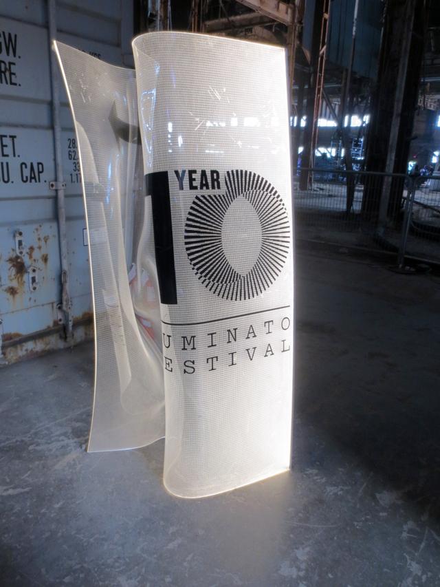 luminato festival sign toronto ten year anniversary