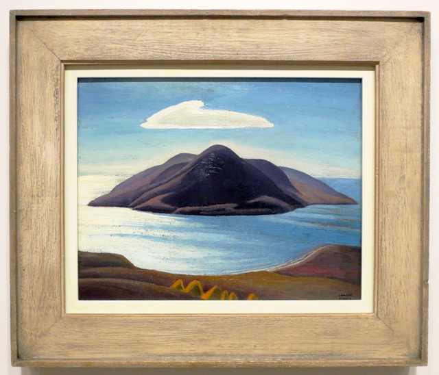 pic island by lawren harris at ago toronto in the idea of north exhibition
